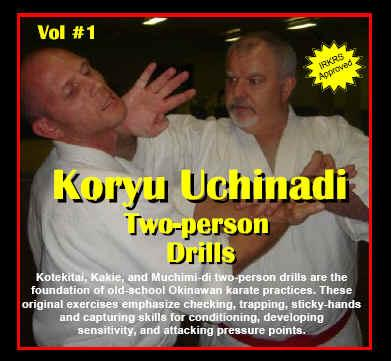 Buy Koryu Uchinadi - Volume 1: Two person drills by Patrick McCarthy Hanshi in NZ New Zealand.