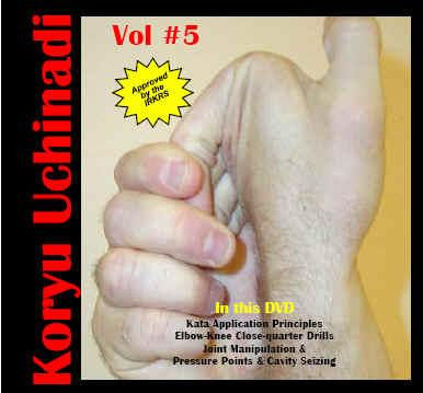 Buy Koryu uchinadi - Volume 5: Joint manipluation & pressure points in NZ New Zealand.