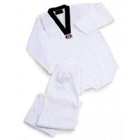Buy Adults Tae kwon do V-neck Uniform in NZ New Zealand.